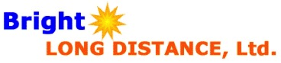 Bright Long Distance Logo