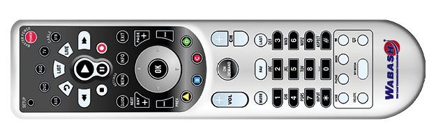 Silver Wabash TV Remote