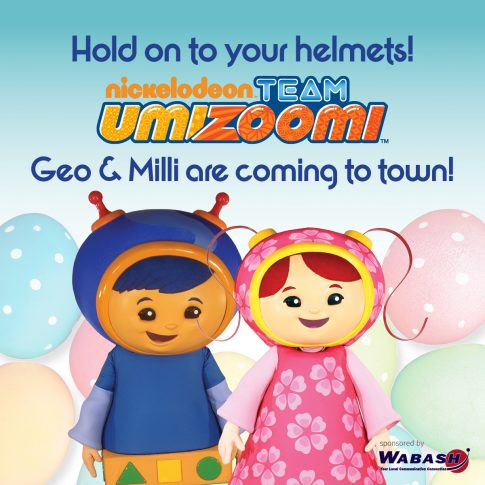 Team Umizoomi is coming to town!